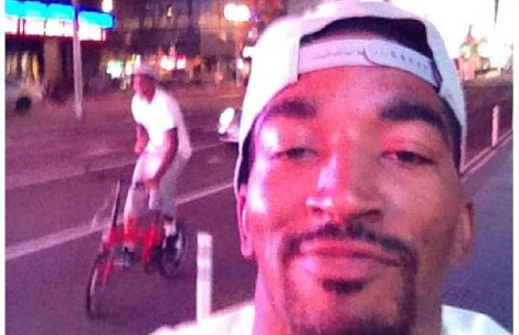 J.R. Smith Overcomes Epic Hangover, Snags 50 Phone Numbers At Roofdeck Party